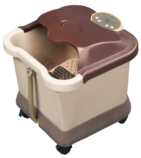 Carepeutic� Motorized Foot and Leg Spa Bath Massager