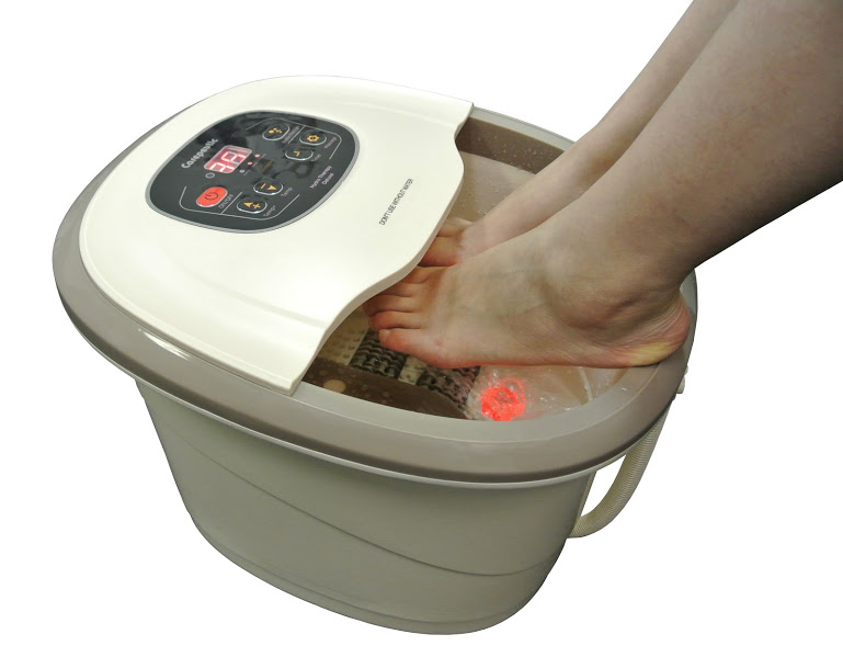 Carepeutic® Motorized Hydro Therapy Foot and Leg Spa Massager