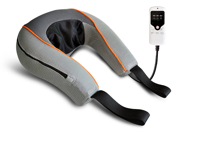 Carepeutic Swedish Neck Massager with 3D Shiatsu Massage for Deep Tissue Therapy with Different Intensities and Washable Cover at Sears.com
